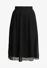 NA-KD - PLEATED SKIRT - A-line skjørt - black - 4