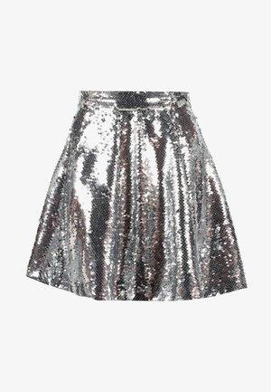 ZALANDO X NA-KD - Áčková sukně - silver