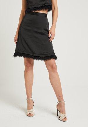 ZALANDO X NA-KD - A-snit nederdel/ A-formede nederdele - black