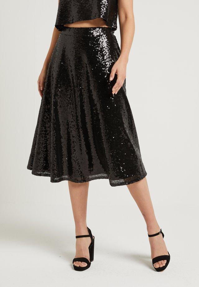 ZALANDO X NA-KD - A-line skirt - black