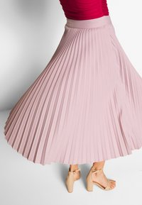 NA-KD - BELTED PLEATED SKIRT - A-line skjørt - lilac - 3