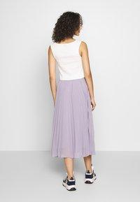 NA-KD - ANKLE LENGTH PLEATED SKIRT - Áčková sukně - purple - 2