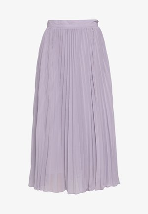 ANKLE LENGTH PLEATED SKIRT - A-line skirt - purple