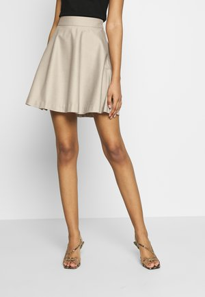 MINI SKIRT - A-lijn rok - light beige