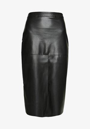 MIDI SKIRT - Kynähame - black
