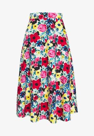 FLOWY SKIRT - A-line skirt - poppy
