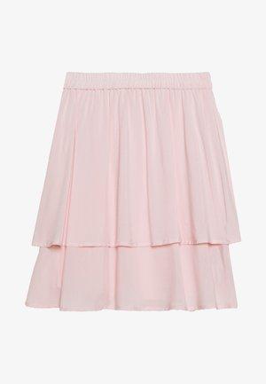 FLOWY SKIRT - Minisukně - light pink