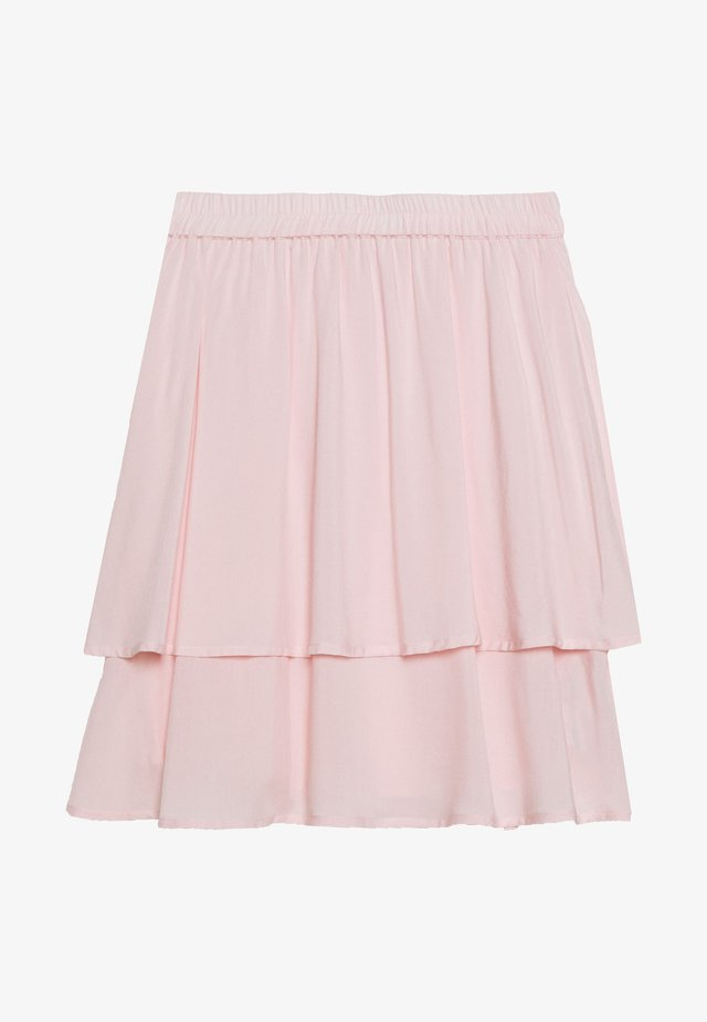 FLOWY SKIRT - Minihame - light pink
