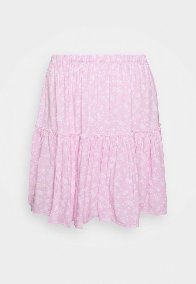 PAMELA REIF FRILL SKIRT - A-linjekjol - pink