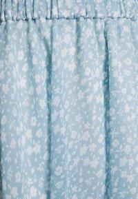 NA-KD - Pamela Reif x NA-KD CIRCLE SKIRT - A-line skjørt - light blue - 2