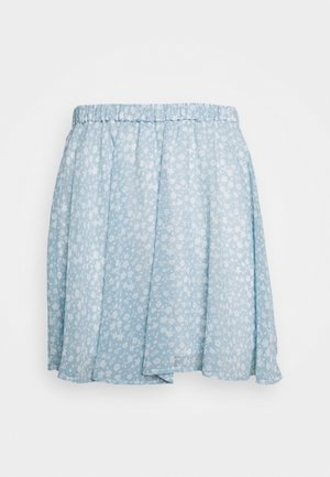 PAMELA REIF X NA-KD CIRCLE MINI SKIRT - A-line skjørt - light blue