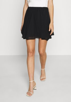 Pamela Reif x NA-KD CIRCLE SKIRT - A-Linien-Rock - black