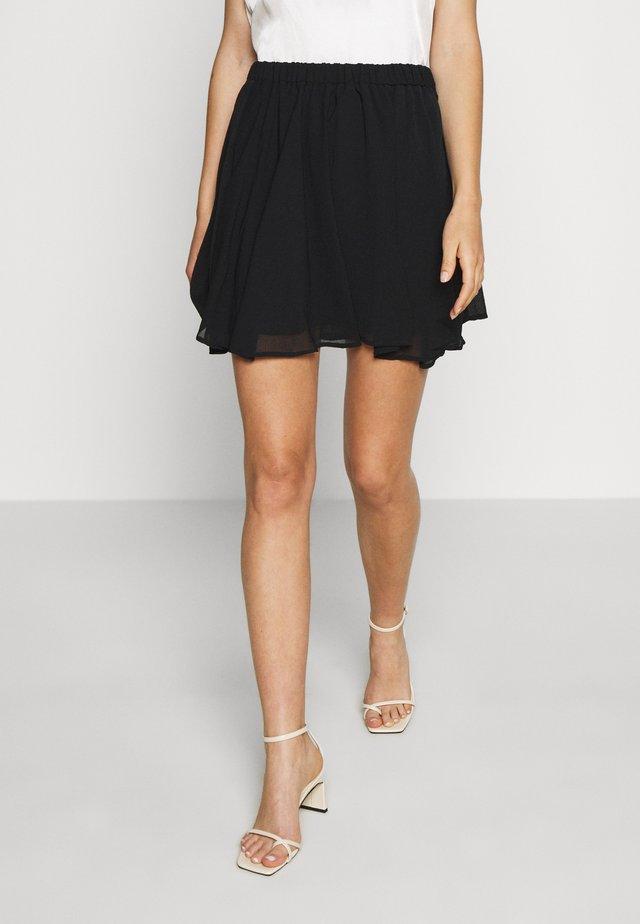 Pamela Reif x NA-KD CIRCLE SKIRT - A-line skirt - black