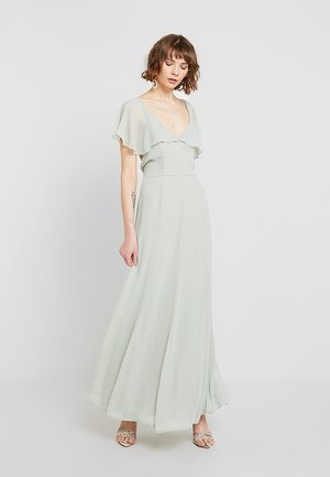 BACK DETAIL MAXI DRESS - Suknia balowa - dusty green