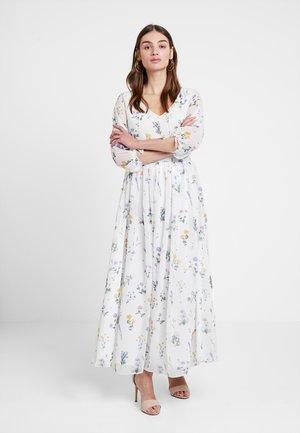 KAE SUTHERLAND V NECK DRESS - Maxikjoler - multi white