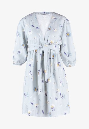 DEEP V MINI DRESS - Freizeitkleid - blue