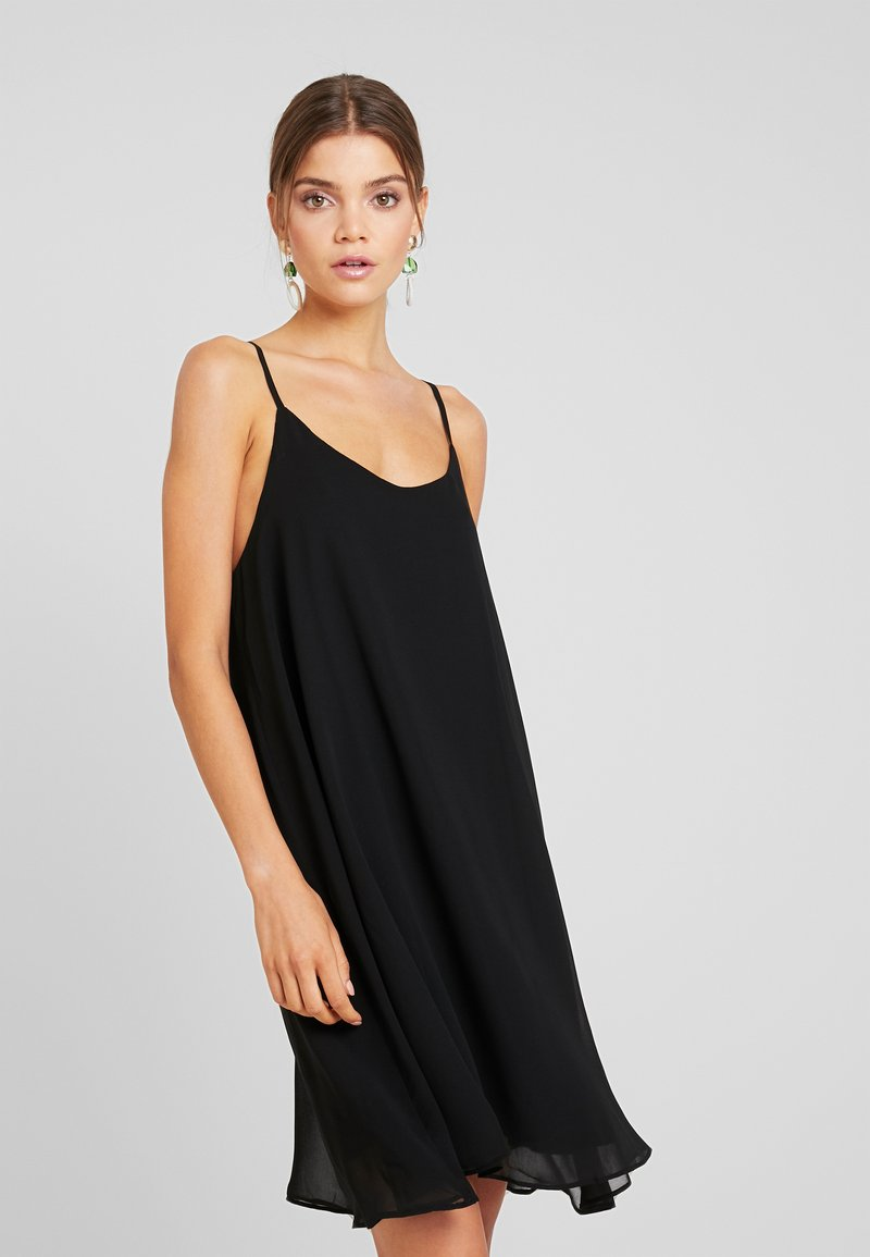 NA-KD - CAMI DRESS - Cocktail dress / Party dress - black
