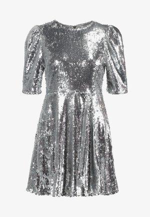 ZALANDO X NA-KD - Cocktail dress / Party dress - silver