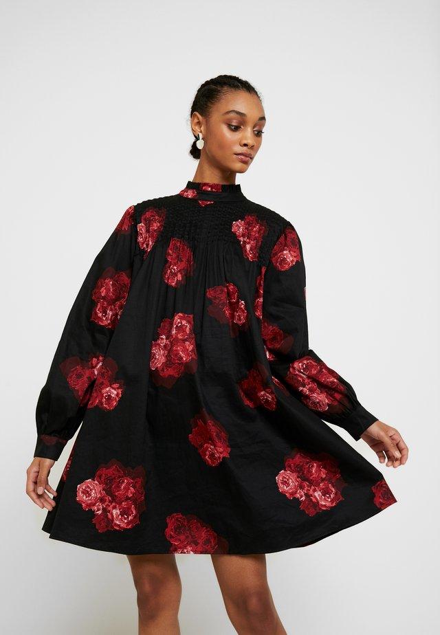 RUFFLE DETAIL SHORT DRESS - Korte jurk - multi-coloured