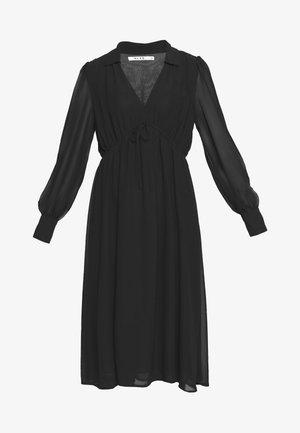 MIDI DRESS - Day dress - black