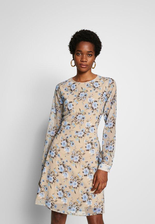 CUT OUT BACK DRESS - Denní šaty - multi-coloured