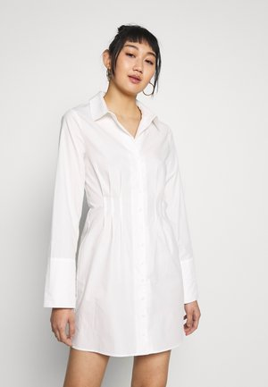 DETAILED DRESS - Day dress - white