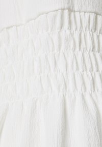 NA-KD - PUFF SLEEVE MINI DRESS - Korte jurk - white - 2