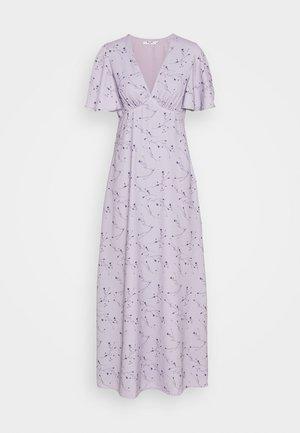 ZALANDO X NA-KD V NECK FLOWY DRESS - Abito da sera - lilac