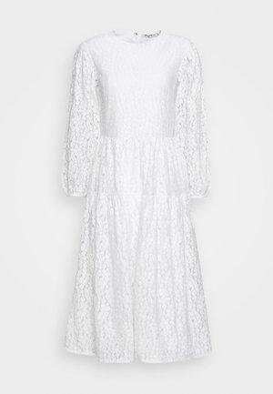 PUFF SLEEVE DRESS - Vardagsklänning - white