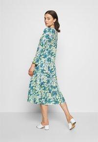 NA-KD - RUFFLE DRESS - Day dress - yellow - 2