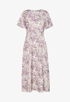 ZALANDO X NA-KD WIDE FLOWY SLEEVE MIDI DRESS - Day dress - purple
