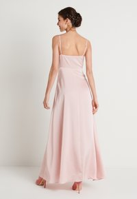 NA-KD - V-NECK FLOWY DRESS - Maxi-jurk - dusty pink - 2