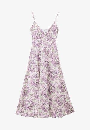 V-NECK FLOWY DRESS - Maxikjole - purple