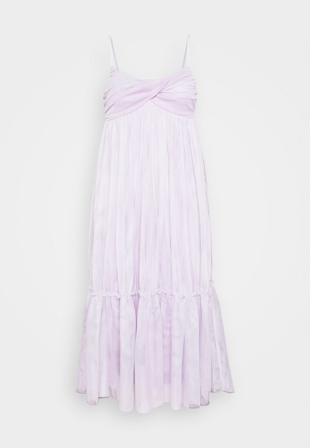 ZALANDO X NA-KD VOLUME TULLE DRESS - Juhlamekko - dusty lilac