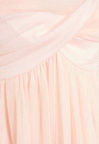 NA-KD - ZALANDO X NA-KD VOLUME TULLE DRESS - Juhlamekko - dusty pink - 2