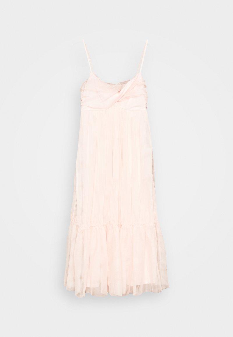 NA-KD - ZALANDO X NA-KD VOLUME TULLE DRESS - Juhlamekko - dusty pink