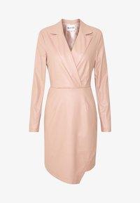NA-KD - BLAZER DRESS - Juhlamekko - dusty pink - 4