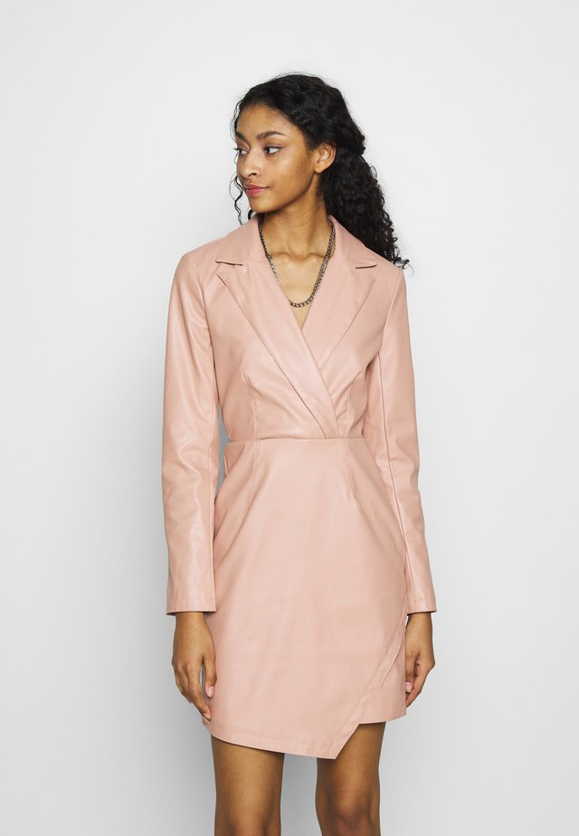 BLAZER DRESS - Juhlamekko - dusty pink