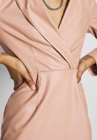 NA-KD - BLAZER DRESS - Juhlamekko - dusty pink - 5