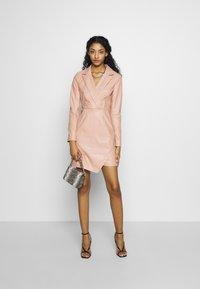 NA-KD - BLAZER DRESS - Juhlamekko - dusty pink - 2