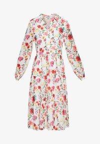 NA-KD - RUFFLED MIDI DRESS - Košilové šaty - multicoloured - 5