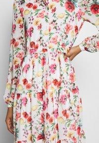 NA-KD - RUFFLED MIDI DRESS - Košilové šaty - multicoloured - 6