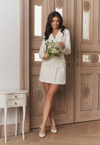 NA-KD - ZALANDO X NA-KD BLAZER DRESS - Juhlamekko - off white - 3