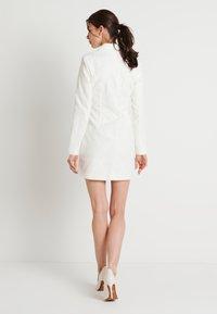 NA-KD - ZALANDO X NA-KD BLAZER DRESS - Juhlamekko - off white - 2