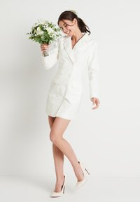 NA-KD - ZALANDO X NA-KD BLAZER DRESS - Juhlamekko - off white - 1