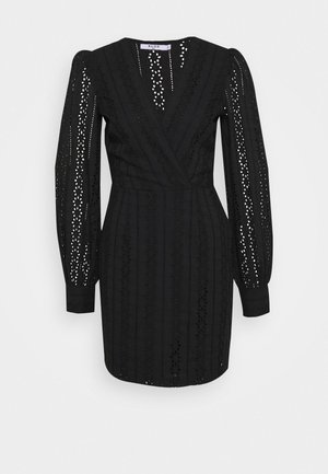 CROCHET DRESS - Vestito estivo - black