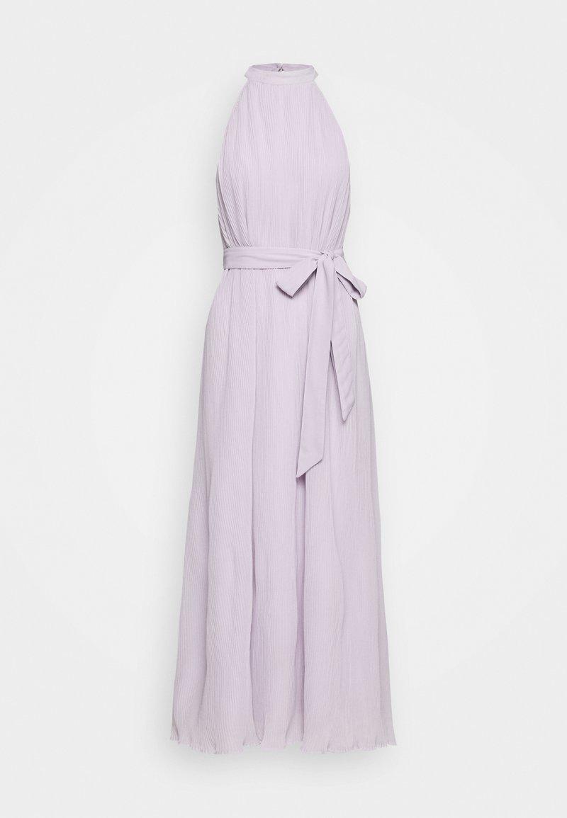NA-KD - HALTERNECK PLEATED DRESS - Iltapuku - purple