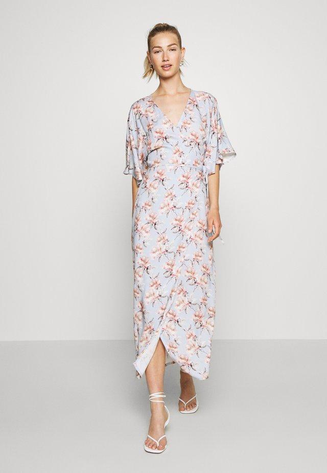WRAP TIE DRESS - Day dress - light blue