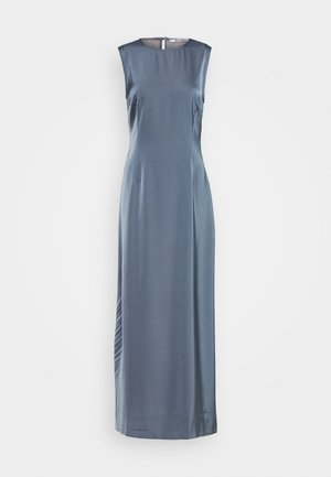 BACK DETAIL MAXI DRESS - Iltapuku - stone blue