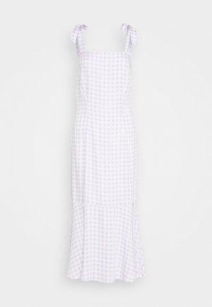 QUEEN OF JETLAGS X NA-KD SHOULDER STRAPS MIDI DRESS - Day dress - lilac
